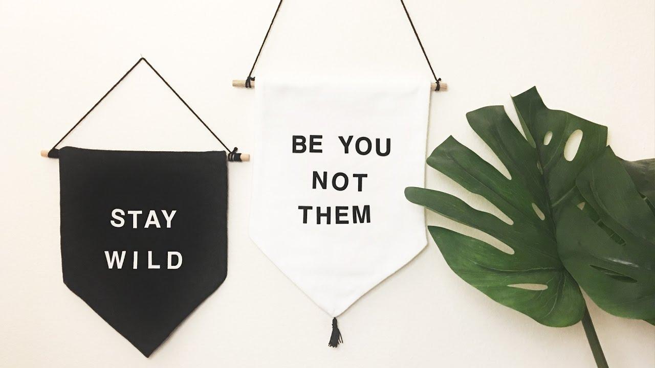 Whatdaymade Diy Wall Hanging Banner Free Printable