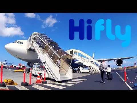 FLIGHT REPORT / HIFLY AIRBUS A340 500 / TAHITI - LOS ANGELES