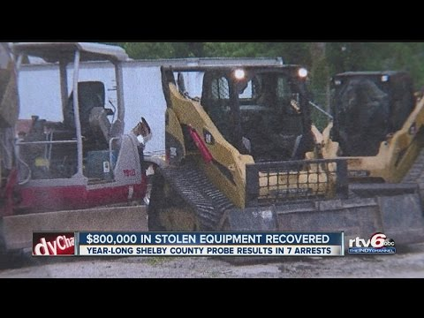 $800,000 In Stolen Farm Equipment Recovered