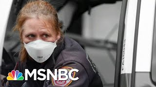 Number Of Emergency Workers Contracting Coronavirus Surges | The 11th Hour | MSNBC