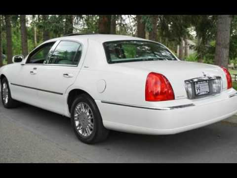 2006 Lincoln Town Car Designer Series 1 Owner Navi Roof Leather