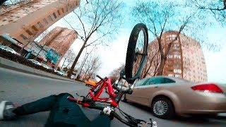 BELİM KIRILIYORDU (!) KAZA YAPTIM -  UÇAN SERO - Urban/Street Day #4
