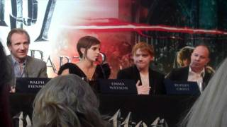 Emma Watson Talks About Kissing Rupert Grint Daniel Radcliffe And Tom Felton