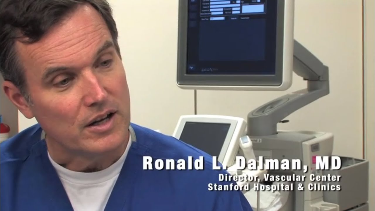 Ronald Dalman, MD, discusses Venous Disease and treatment at Stanford  Hospital