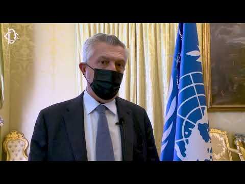 Incontro del Presidente Fico con l'Alto Commissario delle Nazioni Unite per i Rifugiati
