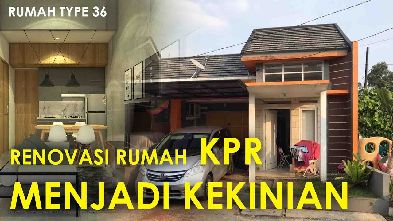 Sharing Design 04 | Merubah rumah KPR menjadi KEKINIAN ...