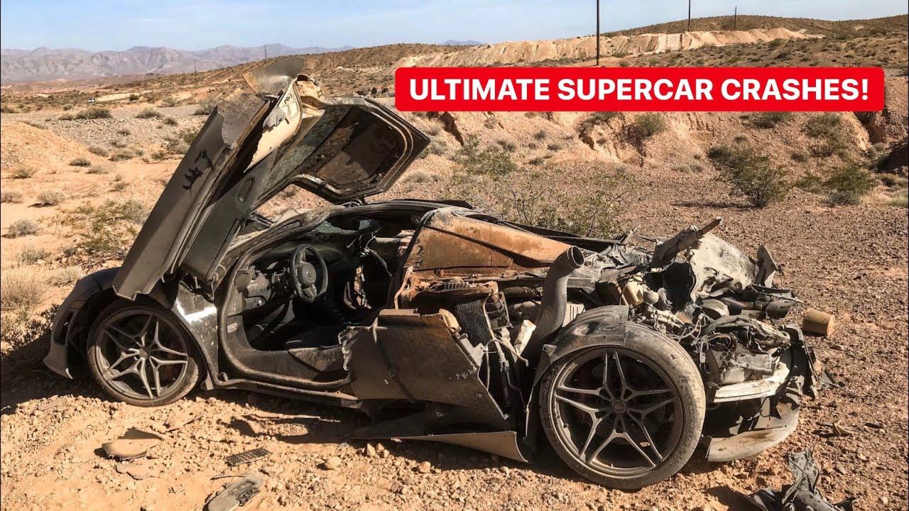 Download CRASHED SUPERCARS MEGA COMPILATION! *DESTROYED*