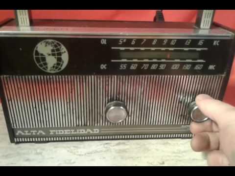 antigua radio alta fidelidad