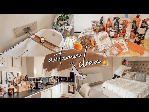 AUTUMN CLEAN WITH ME! | EXTREME CLEANING MOTIVATION | ALL DAY CLEAN WITH ME SEPTEMBER 2019
