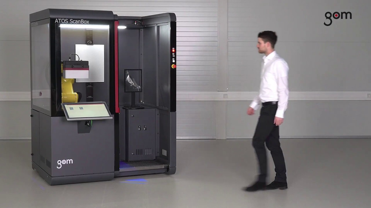 Atos Capsule In Scanbox 4105 Automated Inspection Of