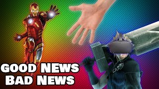 Bad News for Hand Tracking! NEW Great Quest Games! Iron Man DELAYED! AR Contact Lenses!  & Extras