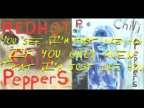 Red Hot Chili Peppers- By The Way with lyrics