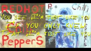 Red Hot Chili Peppers By The Way With Lyrics