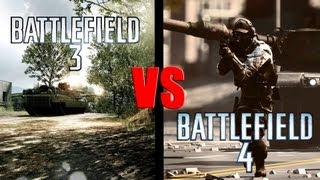 Battlefield 3 vs. Battlefield 4 (Graphics and Sound comparison)
