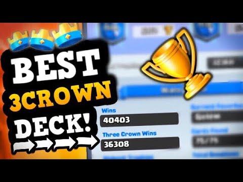 36,000 THREE CROWN WINS?! Insane World Record Deck!