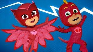 Heroes en Pijamas Las aventuras de PJ Masks | Compilación de episodios |  Dibujos Animados