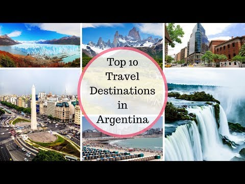 Top 10 Travel Destinations in Argentina | RK Travel