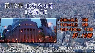 【2018年】超高層ビル群ランキング 【日本国内】