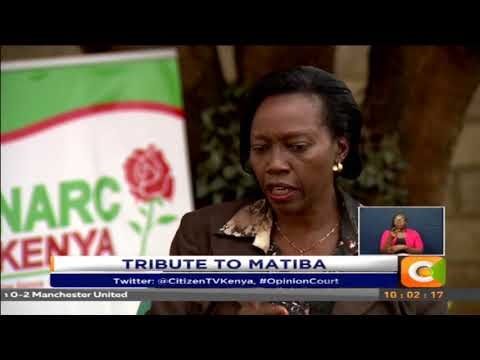 Opinion Court | Tribute to Matiba