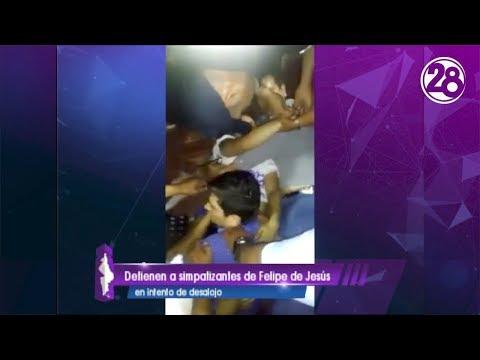 Intentan desalojar a Felipe de Jesús Cantú del Palacio municipal de Monterrey