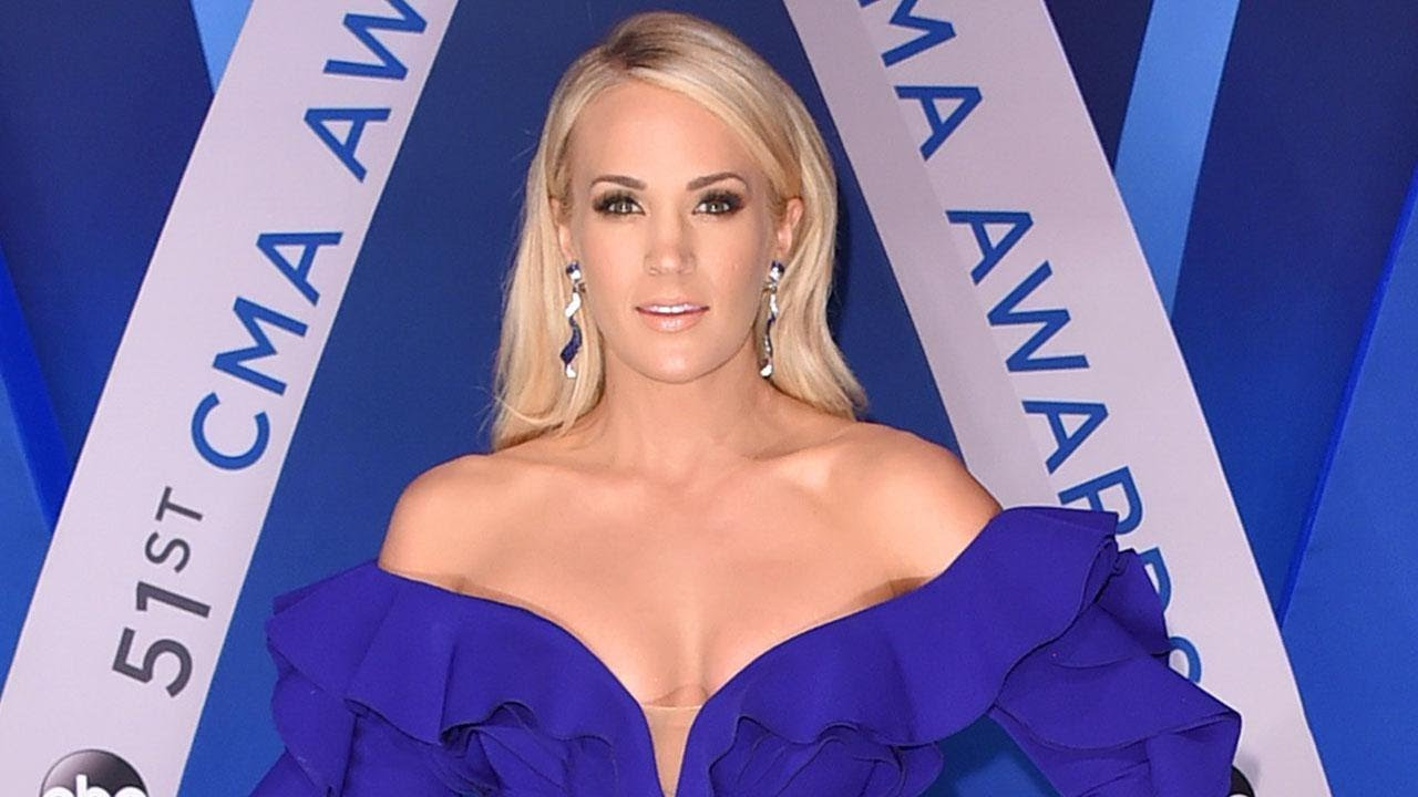 Carrie Underwood shows half her face months after needing 40+ stitches
