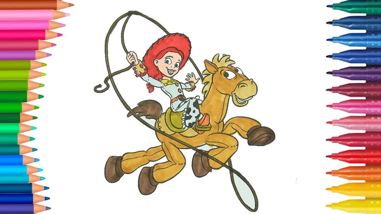 Oyuncak Hikayesi Toy Story çocuklar Için Boyama Sayfası Boyama