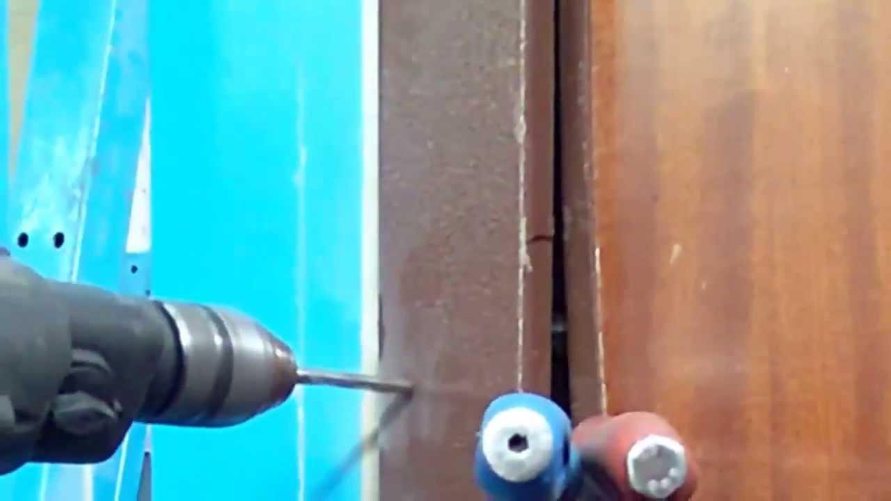 Come aprire un portone blindato test youtube - Aprire porta senza chiave ...