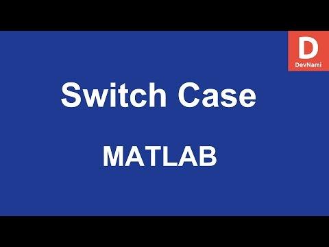 MATLAB Switch Case