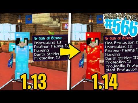 LA MIA NUOVA ARMATURA DA BANNARE - Minecraft ITA - Survival 1.14 #566