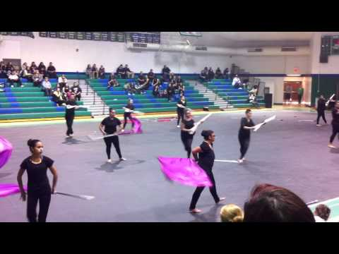 Wasco High School Winterguard 2015