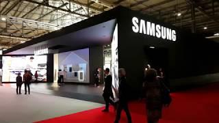 Samsung booth - Salone del Mobile Milano 2018