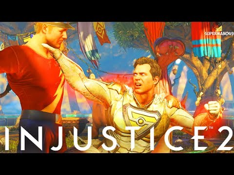 "THE GOD SUPERMAN'S UNBLOCKABLE SUPER ABILITY! - Injustice 2 ""Superman"" Gameplay (Epic Gear)"