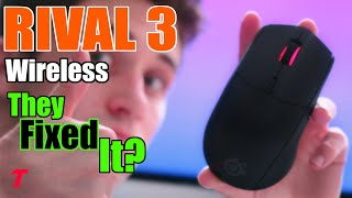 SteelSeries Rival 3 Wireless - They Made it VERY Good? ($50 Mouse Review)