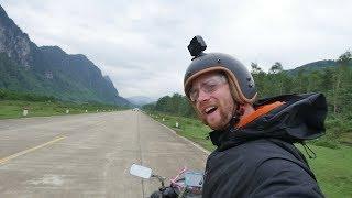 Motorcycling Ho Chi Minh Road Vietnam