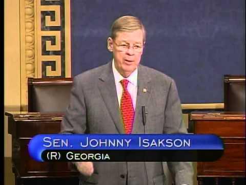 Senator Isakson on Interest on Lawyer Trust Accounts