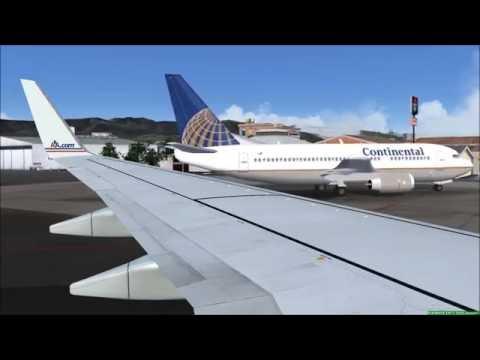 Amazing Landing At Toncontin Int'l Airport Tegucigalpa Honduras