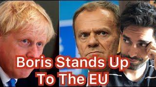 Donald Tusk Fails to Bully Boris Johnson