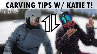Snowboarding Carving Tips with Katie Tsuyuki