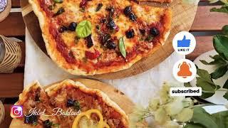 بيتزا دياري سهلة و ناجحة، ووداعا بيتزا الشارع  pizza fait maison