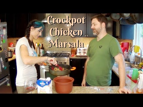 Slow Cooker Chicken Marsala | Cooking Show