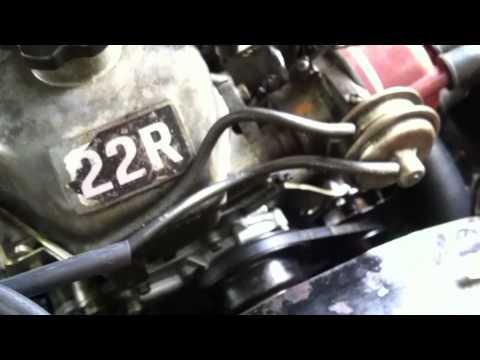 Carburetor Maintenance 22R Air Intake Hoses - YouTube