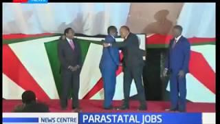 President Kenyatta has awarded presumed opposition members with state jobs