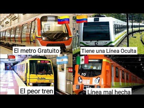 6 Curiosidades sobre los METROS de Latinoamérica (Parte 3)