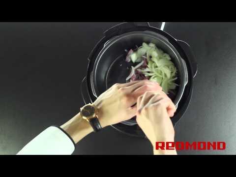 Сырная индейка в мультиварке-скороварке REDMOND M4504. Рецепты для мультиварки