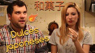 PROBANDO DULCES JAPONESES   Lyna Vlogs