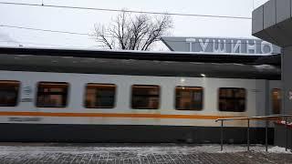 Новые Электрички ЭП2д в Москве