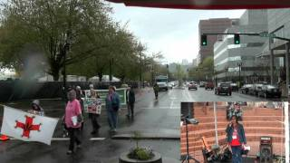 Global Cannabis March in Portland.flv