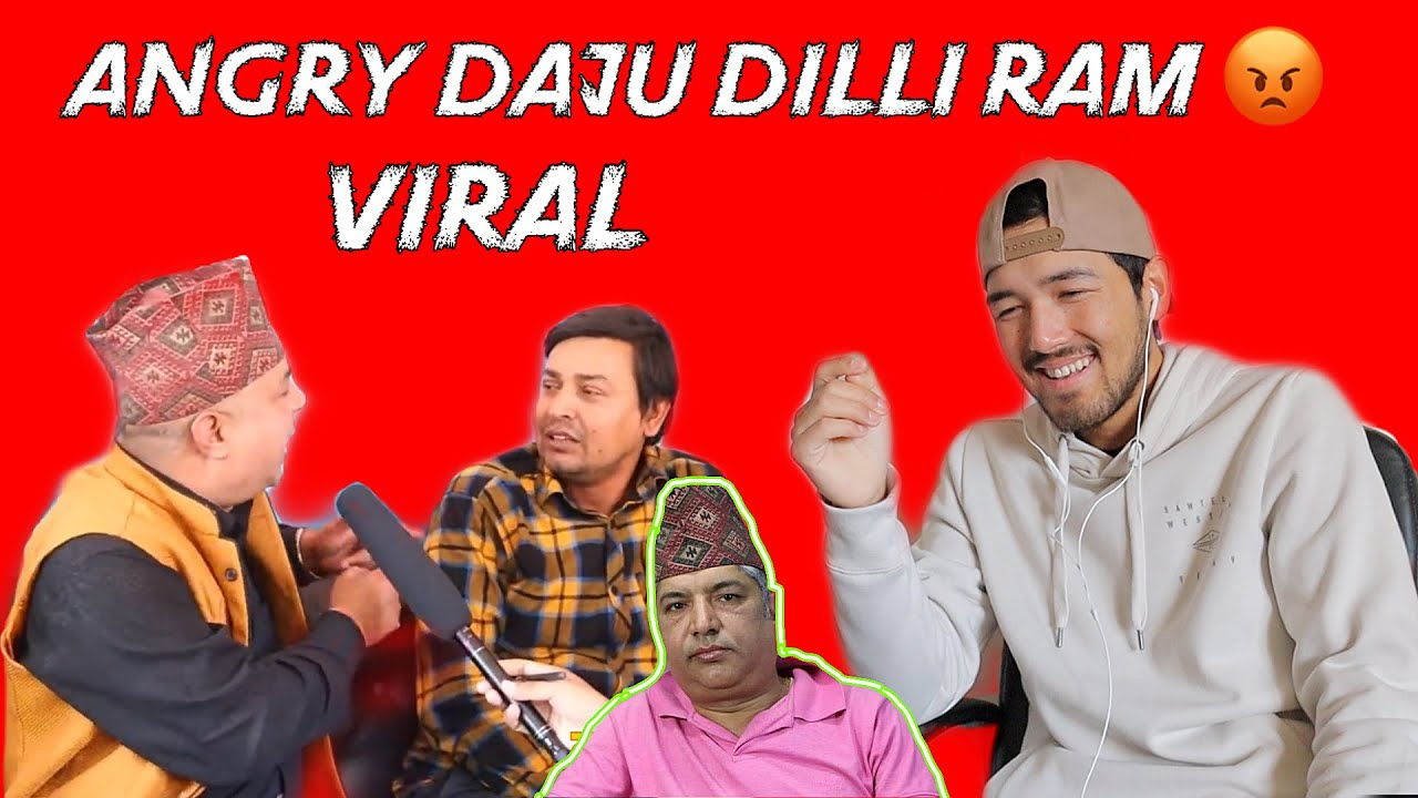 Dilli Ram Khanal Funny interview Reaction ft punnya gautam | Sandip Karki