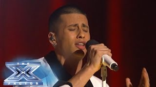 "Carlito Olivero Sings ""In The Name Of Love"" - THE X FACTOR USA 2013"