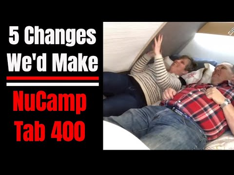 5 Things We'd Change on our NuCamp TaB 400 Teadrop Travel Trailer